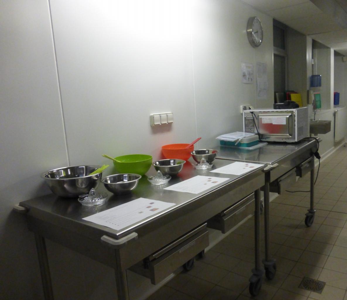 Semaine du Goût : confections dans une cuisine pédagogique