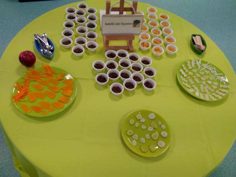 Table legumes