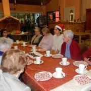 Goûter de Noël : autour de la table