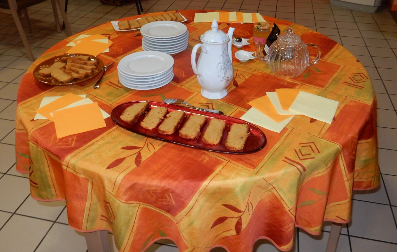 Table de dégustation