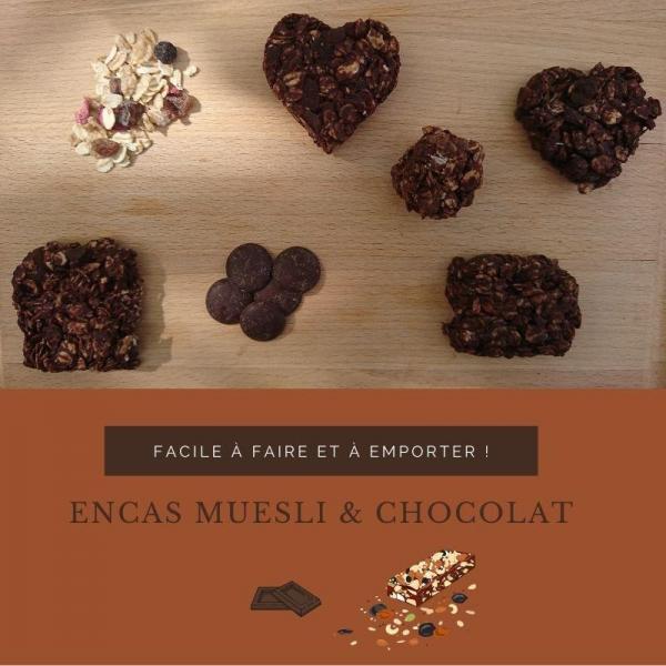 encas muesli & chocolat